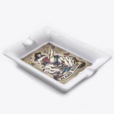 #Vince #Ray #mansruin #ashtray £11.50 http://toxico.uk/37-ceramics