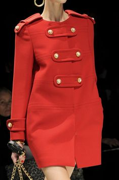 #Moschino Fall 2012 #FW Coats