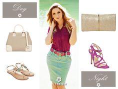 Dica de bolsa e sapato para usar de dia e noite com o look Titanium Jeans #moda