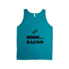 Mmm Bacon Breakfast Bacon And Eggs Hungry Hunger Food Foods Eating Funny Eat SGAL6 Men's Tank