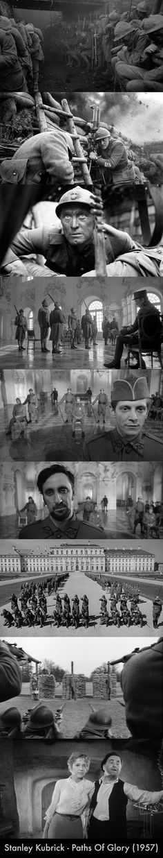 Stanley Kubrick - Paths Of Glory (1957) #PathsOfGlory #Masterpiece…