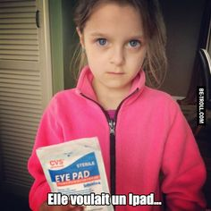 Funny Meme – [She asked an iPad and she got it, lucky girl! Funny Quotes For Kids, Funny Kids, Fun Funny, Cod Bo2, Deutsche Girls, Funny Pranks, Funny Memes, 9gag Memes, Funniest Memes