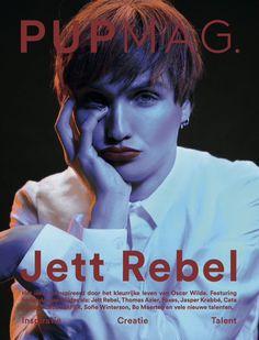 Op de cover van de nieuwe Pupmag!