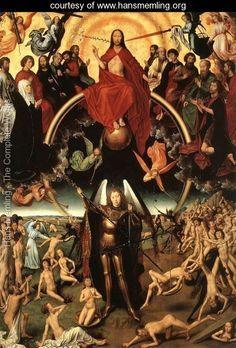 El Juicio Final, Hans Memling, h 1467-71, Polonia, Museo Narodowe de Gdánsk