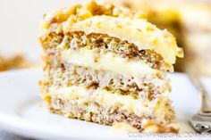 Light, fluffy, and sweet, the layers of this traditional Southern dessert will have friends begging for this favorite recipe. It's so easy to make from scratch. The award-winning flavor is the perfect Cool Whip Desserts, Light Desserts, Sweet Desserts, Easy Desserts, Sweet Recipes, Delicious Desserts, Cake Recipes, Amazing Dessert Recipes, Light Dessert Recipes