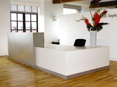 Reception area | Bespoke Desks & Seating | Mainrock | Mainrock