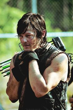 NORMAN REEDUS-I have this as a huge, laminated poster! MY FAVE!! <3