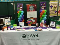 Our booth from the Womens Expo!! I love what I do, I love sharing this amazing product with everybody whether it be for the product  or business...I love being a leader & teaching people. ...it's so rewarding!! If you are looking for a side job, some extra cash or just want to feel amazing. ...message me if you are ready to add extra income to your family or just want to learn something fun to do!! jacksonkim33@gmail.com  healthylevelbod.Le-Vel.com