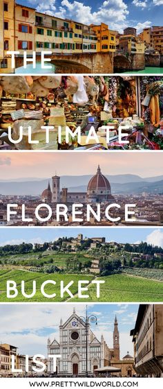 #FLORENCE #ITALY #EUROPE #TRAVEL | Things to do in Florence, Italy | Places to visit in Florence | Florence sightseeing | Trip to Florence | Visit Florence | Visit Italy | What to see in Italy | Romantic places in Europe | Where to go in Europe | Florence Italy Travel | Italy Tavel