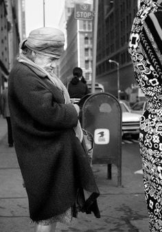 Vivian Maier // Old Lady