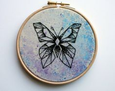 geometric butterfly tattoo - Google Search