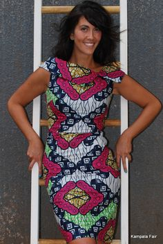 #Ankara dress ~African fashion, Ankara, kitenge, African women dresses, African prints, African men's fashion, Nigerian style, Ghanaian fashion ~DKK