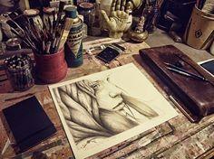 栗子头的相册-Studio & Workspace