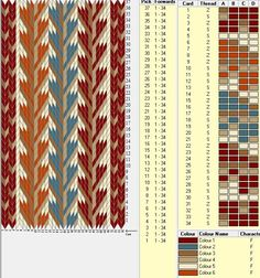 151 best Tablet weaving patterns images ...