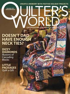 Quilter's World 12/2011  disponible en   https://picasaweb.google.com/111014895045247802483/QuilterWorld02011#