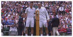 Video - Wimbledon 2015. Men Singles. Final. Novak Djokovic  vs. Roger Federer. 1st set. ... 17  PHOTOS  ... Novak Djokovic wins 7-6, 6-7, 6-4, 6-3 to claim his third Wimbledon title.  Posted from:    http://softfern.com/NewsDtls.aspx?id=1026&catgry=3    SoftFern News, SoftFern Sport News, SoftFern Health and Beauty News, tennis, Garbine Muguruza, SoftFern hot girls, the hottest girls, hot girls p, SoftFern videos, final, Wimbledon 2015, Grand Slam, Men Singles, Novak Djokovic, Roger Feder