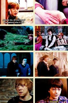 Harry and Ron an endless friendship.