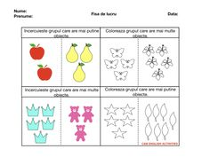 Worksheets For Kids, Kids Education, Classroom Ideas, Crafts For Kids, English, Activities, Blog, Math Resources, Early Education