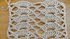 Delicate Shells Stitch   Crochet Tutorial