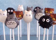 Best. Cake. Pops. Ever.    Totoro