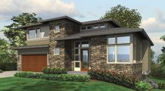 This 2 story Modern features 3651 sq feet. Call us at 866-214-2242 to talk to a House Plan Specialist about your future dream home!