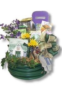 Gardening Basket Gift Ideas 29 clever things under 20 for gardening gift baskets Auction Basket For Garden Google Search Garden Basket Ideas