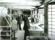 ADOLF LOOS Ateliers of the Goldman & Salatsch shop, Wien, 1910 circa