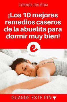 Como dormir bien | ¡Los 10 mejores remedios caseros de la abuelita para dormir muy bien! | Si tiene problemas para dormir, no puede dejar de aprenderlos. Tal vez usted ya conocía alguno, cuéntenos su experiencia. ;) Lea y sepa ? ? ?