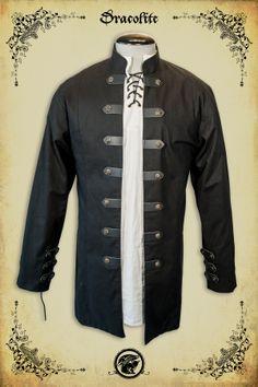Sir Samuel Shirt 259$ http://www.medievalboutique.com/