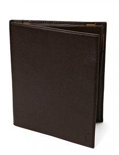 Brune Pebbled Leather Media Case Polo Ralph Lauren punge på udsalg - Spar 32% - ModeJagten.dk