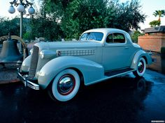 ❦ Cadillac V8 Series 70 Coupe '1936