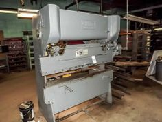 CHICAGO DREIS & KRUMP PRESS BRAKE, MODEL No. 56-A, S/N 1-1004. 30 TON. 220 VOLT 3 PHASE. 6' BED.  Online Auction of Stamping & Fabricating Facility With Product Line and Website - Bidding Open Now Through April 16th Bidding Starts to Close at 1:00 PM/Eastern on the final day of bidding  http://www.acceleratedbuysell.net/cgi-bin/mnlist.cgi?perillo63%2Fcategory%2FALL