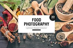 Food Photography Lightroom Presets by RDK Design on @creativemarket