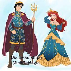 Reign Collection: Ariel and Eric Disney Pixar, Ariel Disney, Disney Memes, Cute Disney, Disney Dream, Disney And Dreamworks, Disney Animation, Disney Cartoons, Disney Magic