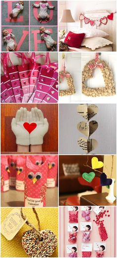 Living on Love: 10 DIY Valentine's Day Projects