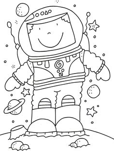 bicycle safety coloring pages 5 free printable coloring pages ... - Astronaut Coloring Pages Printable
