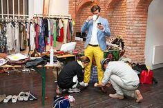 Preppy Chic - shop online PKZ.CH Johannes Huebl, Chic Shop, Models, Preppy, Online Shopping, Harem Pants, Tops, Fashion, Templates