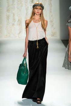 Tendencias primavera 2013 faldas vestidos largos maxi - Rachel Zoe