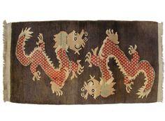 170x89 cm antik Tibetischer Khaden Yoga Meditation von KabulGallery