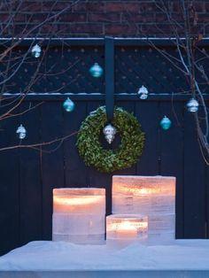 Superbes lanternes illuminées. #DIY