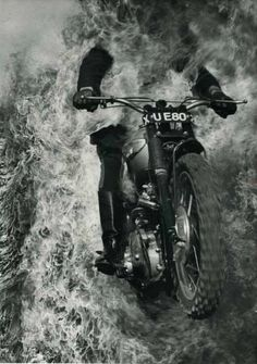 motorbike | extreme sports | rebel | stunt | fire | flames | crazy | www.republicofyou.com.au