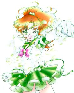 Sailor Jupiter manga