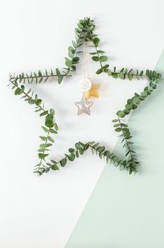 DIY Christmas star Dill and Chamomile - Tanja van Hoogdalem