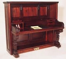 Image result for things made by recycling an antique upright piano