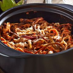 Quick Eggplant Parmesan Pasta - The Pampered Chef®
