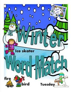 "Winter Word Picture Match from Mickey""s Place on TeachersNotebook.com -  (25 pages)  - Winter Word Match is a vocabulary activity for students to enrich their language skills.  This activity has five different sets of words using pictures and words relating to the Winter season."