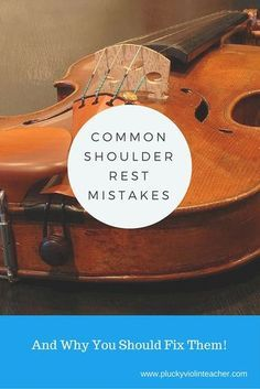 Complete Piano Player Do your students struggle to hold their violins? They may be making these common shoulder rest mistakes! Violin Songs, Violin Sheet Music, Teaching Orchestra, Teaching Music, Violin Lessons, Music Lessons, Music Classroom, Music Teachers, Pad