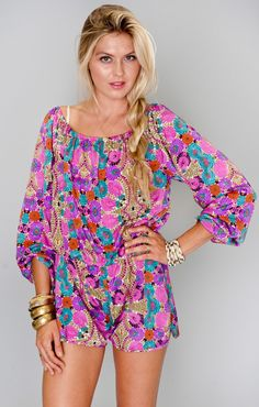 Rane Romper ~ Wild Bloom ~ Show Me Your Mumu