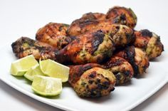 My Sister's Phenomenal Grilled Green Chicken by Michelle Tam http://nomnompaleo.com