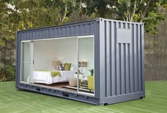 If you need more space - but only temporarily - then don't build, rent a container. It's much more green to rent existing things.